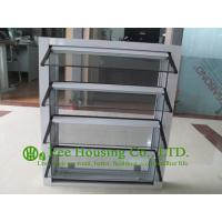 Hurricane-proof Aluminum Glass Louvered windows With Removable Screen,Jalousie louvre Manufactures