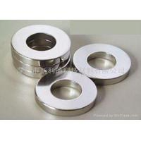 Quality Powerful High Strength N38 Ring Neodymium Magnets For Electromagnetic Crane for sale