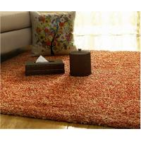Home Goods Area Rugs With 100% Polyester Textured Yarn And Non-Woven Cloth Backing Manufactures