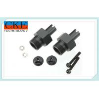 Black Carbon Steel Precision Mechanical Parts , CNC Machining For Hydraulis Manufactures