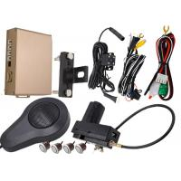 Dual CPU Front And Rear Parking Sensor Kit Compatiable With OEM Car Footbrake System Manufactures