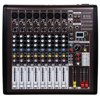 8 channel Professional Audio Mixer  with DSP I08 , Portable Power Mixer Manufactures