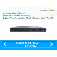 High Integrated GPON EPON OLT Optical Line Terminal Cassette 16 Ports Manufactures
