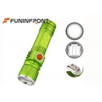 USB Rechargeable CREE XM-L T6 MINI LED Torch with Built-in Li-ion Battery 3 Mode Manufactures