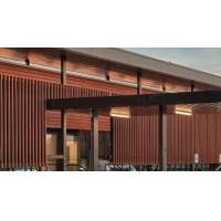 China WPC pellets WPC Exterior Wall Panel composit wood Ceiling for Interior decoration on sale