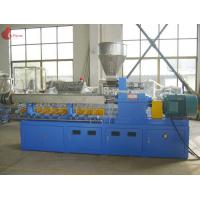 PLC Co - rotating Plastic Extruder Machine Alloy Twin Screw of modular Manufactures
