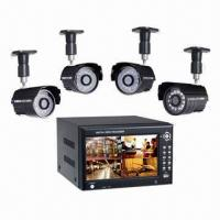 Wireless DVR with MJPEG Compression and Built-in 7-inch Hidden TFT Monitor Manufactures