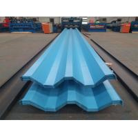 Aluzinc Galvalume Plastic Roofing Sheet For Greenhouse Width 600mm - 1250mm Manufactures