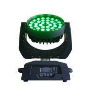IP33 Moving Head Zoom Led Wash Light Dmx Colorful For Stage Lighting High Brightness Manufactures