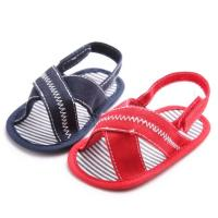 Quick shipping Casual Canvas baby barefoot slipper infant Walking shoes toddler sandals Manufactures