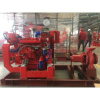 400usgpm 100psi Diesel Engine  UL/FM Pump Set ( Heat Exchanger) End Suction Fire fighting Manufactures