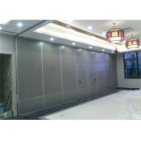 Aluminium Operable Wall Office Partition Walls Commercial 25 - 35  kg/m2