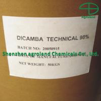 Quality 98%TC Selective Systemic Herbicide Dicamba Herbicide Technical Products for sale