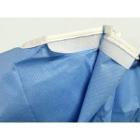 Green Standard Surgical Gown , Disposable Examination Gowns X-XLong Light Weight Manufactures