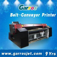 China Garros 1.8m roll to roll belt type direct textile printer for cotton fabric on sale
