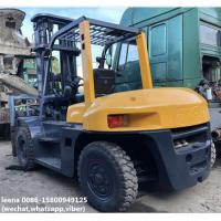 used 7ton tcm 3stages diesel forklift FD70Z8 originally made in japan,low working hrs ,6m lifting height Manufactures
