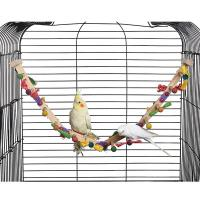 forage n play wooden bird ladders, for sun conures and african grey,26 inches Manufactures