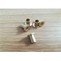 OEM Precision Stainless Metal Stamping Parts , Custom CNC Machinery Lathe Parts Manufactures