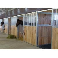 China Ultimate Modular Horse Stall Fronts Bamboo / Pine Infill Option Avaliable OEM on sale