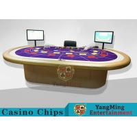 Casino Clay Poker Chips / Ceramic Poker Chips Table With Poker Barcode Scanner Manufactures