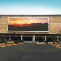 P4 Outdoor Advertising Video Wall LED Display Waterproof Fixed Electronic Message Centers Manufactures