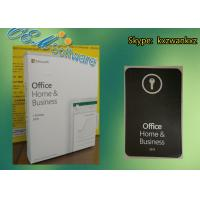 China Retail Box Microsoft Office Home And Business 2019 Product Key Dvd FPP on sale