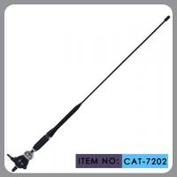 Truck Rubber Car Antenna With Black Glass Fibre Mast Chrome Zinc Alloy 75Ω Manufactures