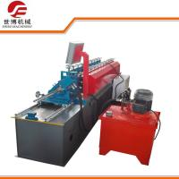 China U Purlin Drywall Stud Roll Forming Machine Fully Automatic Control With No Stop Cutting Way on sale