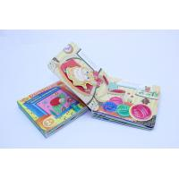 Professional Soft Cover Childrens Book Printing / Flip Card Book , Eco-Friendly Manufactures