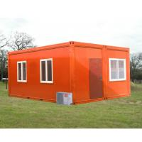 Steel Frame Container House Prefab Waterproof , Premade Shipping Container Homes Manufactures