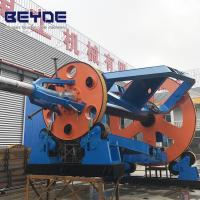 High Speed Cable Making Machine Cradle Type 2000 Mm Traction Wheel Diameter