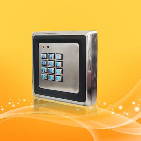 Quality Waterproof Password RFID Door Access Card Reader With EM Lock And Door Sensor for sale