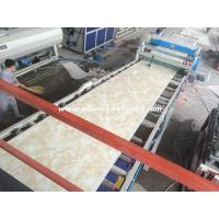 China PVC Marble Panels Twin Extruder Machine For Building Decoration on sale