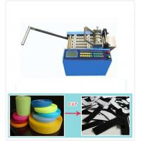 Programmable Automatic Webbing Tape Cutting Machine For Cutting Hook And Loop Tape Manufactures