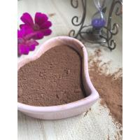 Buy cheap Dark Brown Healthy Cocoa Powder AF02 , Unsweetened Cocoa Powder 10-12% Free Flowing from wholesalers