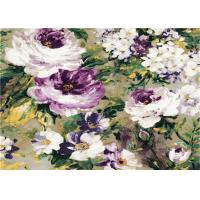 Modern Waterproof 3D PVC Wallpaper Washable Beautiful 3d Flowers Wallpapers Manufactures