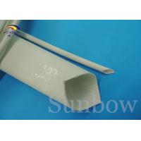 Fiberglass Silicone Rubber Coated sleeving UL ROHS REACH SUPPORT Manufactures