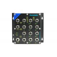 Managed 8 Port Industry Specific Ethernet Switch M12 Interface For Rail Transit Manufactures