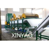 Waste plastic film recycling machine washing and granulation machine ISO9001 Manufactures