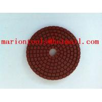 China diamond flixiable polishing pads for polishing stone on sale