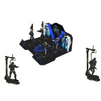 Theme Park Virtual Reality Walking Platform Interactive Games With 360 ° Rotation Manufactures