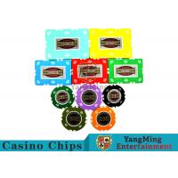 RFID Crown Clay Casino Chip Set With UV Anti - Fake Aluminum Case Manufactures