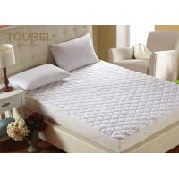 Waterproof Hypoallergenic Bed Cover Super Soft  Mattress Pad Manufactures