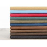 12OZ Washed Cotton Fabric Different Shades Color For Mountaineering Bag Manufactures