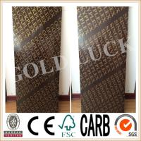 Qingdao Gold Luck 1220x2440mm Poplar Core Brown Film Faced Plywood Manufactures