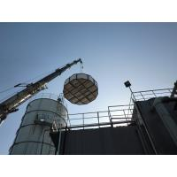 Safety Glass Fused To Steel Tanks , Juice Processing Waste Water Treatment Tank Manufactures