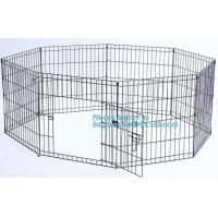 China Manufacturer wholesale stainless steel metal large small foldable carriers cheap pet dog cage, Large Steel Dog Cage For on sale