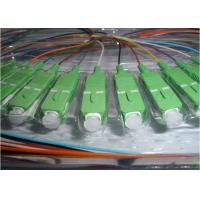 900um Single Mode Fiber Pigtails High Reliability Low Insertion Loss Manufactures