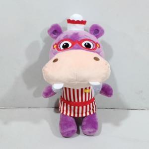 Personalized Disney Doc McStuffins Cuddles & Hugs Hallie Hippo Plush Toys Manufactures