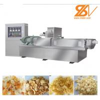 Stable Performance Corn Flakes Production Line / Cereal Bar Making Machine Manufactures